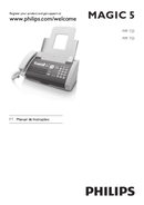 Philips Magic 5 PPF755 sivu 1