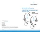 Plantronics SupraPlus HW261 page 1