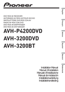 Pioneer AVH-3200DVD Seite 1