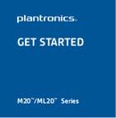 Plantronics ML20/R page 1