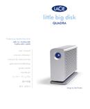 Pagina 1 del LaCie Little Big Disk Quadra