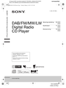 Sony CDX-DAB700U side 1
