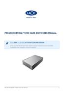 Pagina 1 del LaCie Porsche Design P'9233