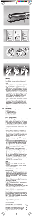 Braun Satinliner Colour ES 3 pagina 2