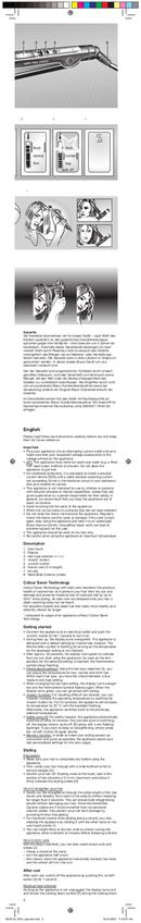 Braun Satinliner Colour ES 3 pagina 3