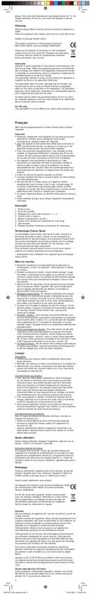 Braun Satinliner Colour ES 3 pagina 4