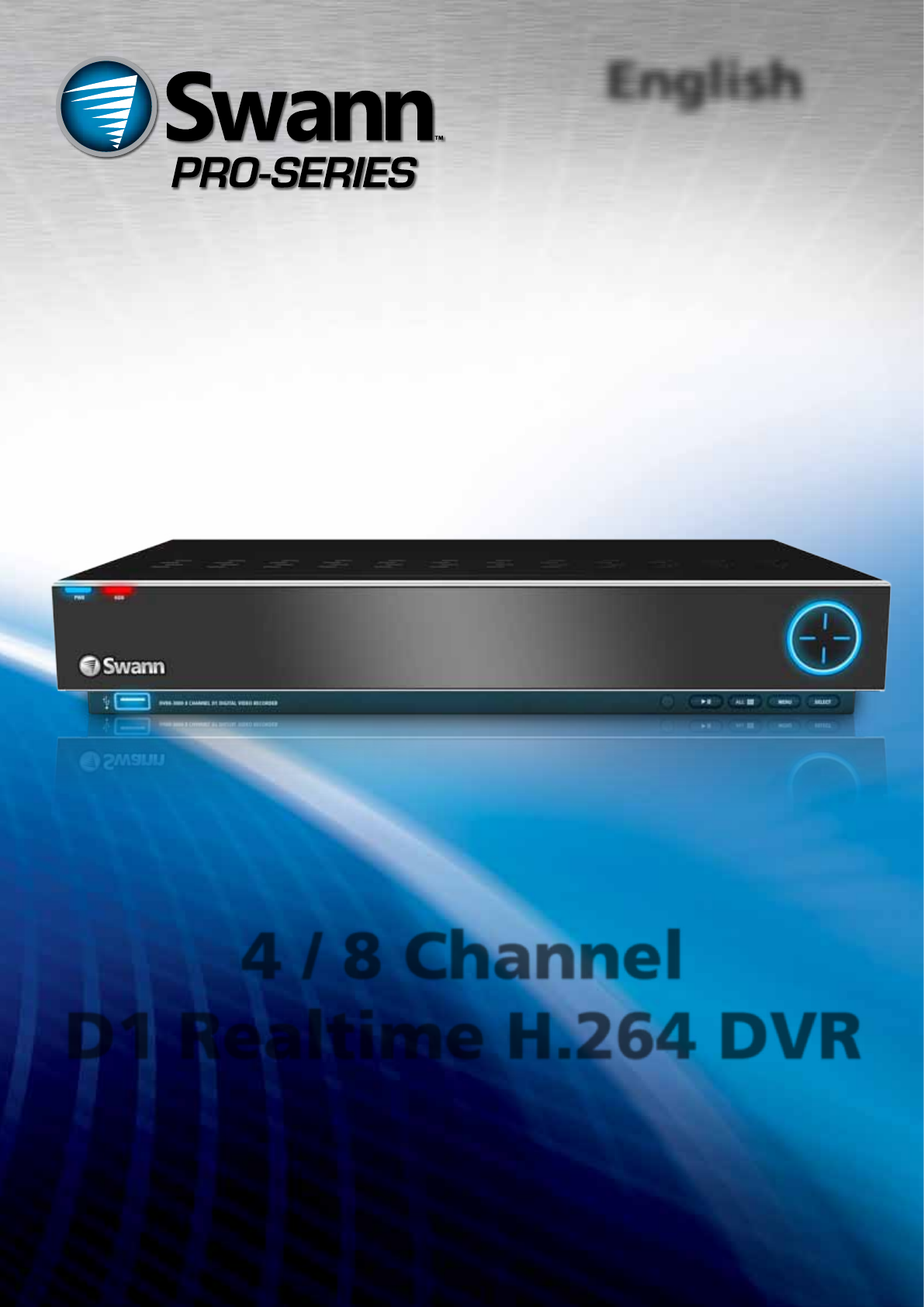 Swann DVR8-3000 manual
