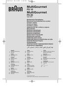 Braun MultiGourmet FS 20 pagina 1