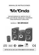 Mx Onda MX-MRH6620 side 1