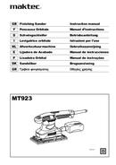 página del Maktec MT923 1
