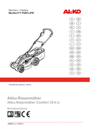 Bosch 38.4 Li Comfort pagină 1