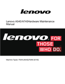 Página 1 do Lenovo IdeaCentre  A540