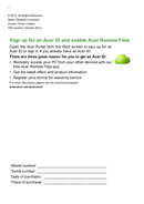 Acer XC-605 sivu 2