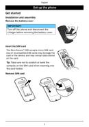 Página 5 do Doro Secure 580