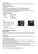 Página 5 do Beurer BF 700