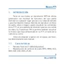 página del Blusens P71 4GB 4