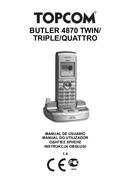 Topcom Butler 4870 sivu 1