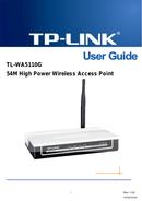 TP-Link TL-WA5110G sivu 1