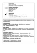 Topcom BPM Wrist 3500 pagina 2