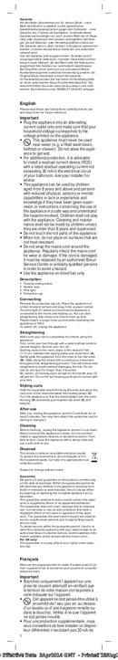 Braun Satin-Hair 1 ST 100 pagina 3
