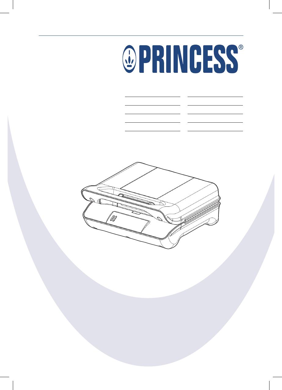 Princess Grill Compact Flex.Princess Grill Compact Flex 117001 Manual