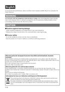Yamaha HPH-MT220 sivu 2