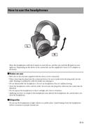 Yamaha HPH-MT220 sivu 3