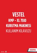 Vestel KMP-XL 7500 sivu 1
