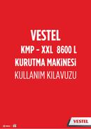 Vestel KMP-XXL 8600 L sivu 1