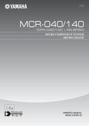 Yamaha MCR-040 sivu 1