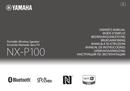 Yamaha NX-P100 page 1