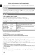 Yamaha HPH-M82 page 4