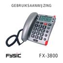 Pagina 1 del Fysic FX-3800