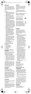 Braun Multiquick 3 MR 320 Pasta pagina 3