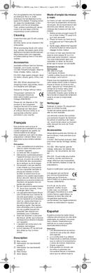 Braun Multiquick 3 MR 320 Pasta pagina 4