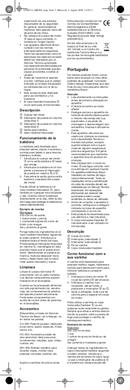 Braun Multiquick 3 MR 320 Pasta pagina 5