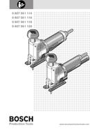 Bosch 0 607 561 116 sivu 1