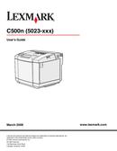 Lexmark C500n side 1