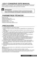 página del Calormatic BL-200 3