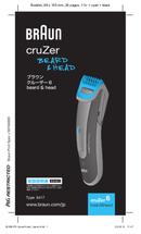 Braun Cruzer 6 Heard&Beard side 1