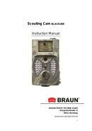 Braun Scouting Cam BLACK300 side 1