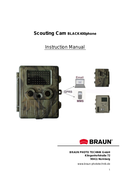 Braun Scouting Cam BLACK400phone side 1