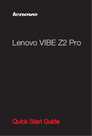 Lenovo VIBE Z2 Pro sivu 1