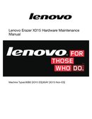 Página 1 do Lenovo Erazer X315
