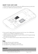 ZTE MF65 manual