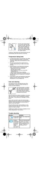 Braun ThermoScan 6026 pagina 5