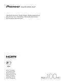 Pioneer PDA-V100HD sivu 1