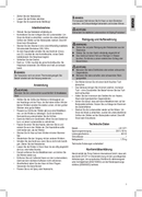 Página 3 do Clatronic LW 3371