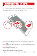 Lenovo Ideaphone S860 sivu 4