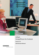 Siemens HiPath SimplyPhone side 1